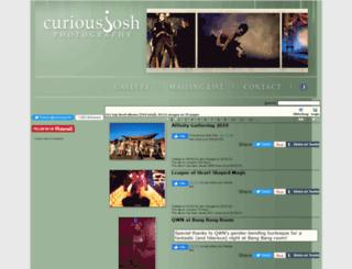 curiousjosh.com screenshot