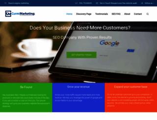 curmimarketing.com screenshot