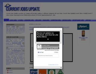 current-jobs-updates.blogspot.in screenshot