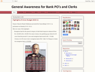 currentaffairsbankpo.blogspot.com screenshot
