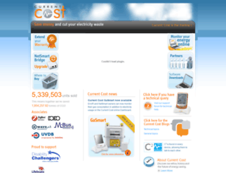 currentcost.com screenshot