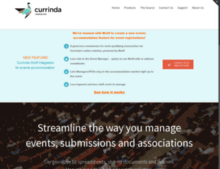 currinda.com screenshot