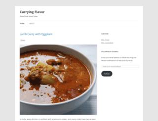 curryingflavor.wordpress.com screenshot