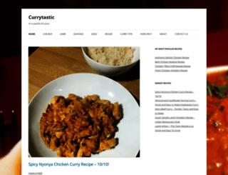 currytastic.com screenshot