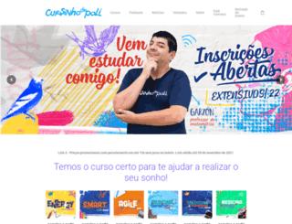 cursinhodapoli.com.br screenshot