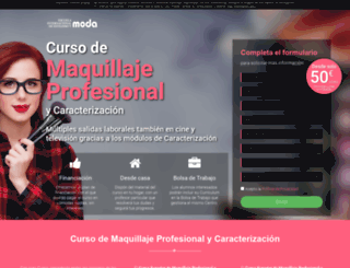 curso-maquillaje.es screenshot
