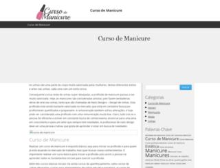 cursodemanicure.com.br screenshot