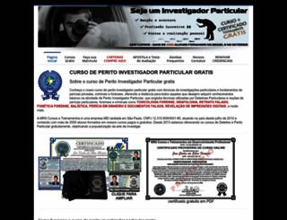 cursodeperitogratis.com.br screenshot