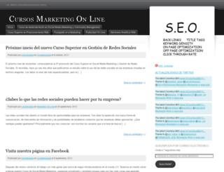 cursomarketingonlinecolumbus.wordpress.com screenshot