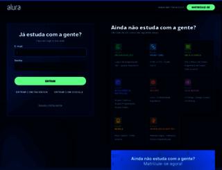 cursos.alura.com.br screenshot
