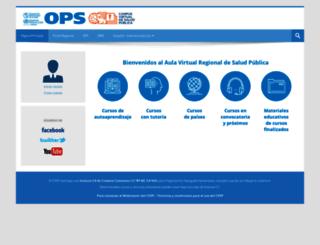 cursos.campusvirtualsp.org screenshot