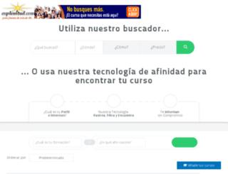cursos.enplenitud.com screenshot