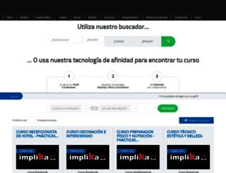 cursos.paradosydesempleados.com screenshot