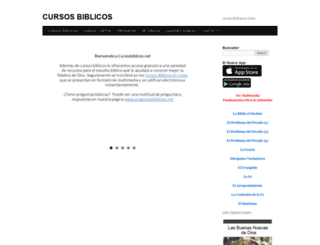 cursosbiblicos.net screenshot