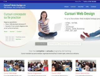 cursuri-web-design.ro screenshot