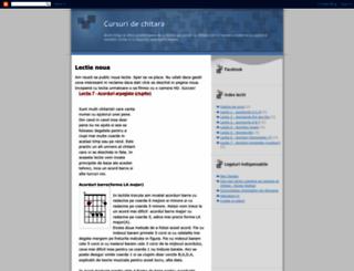 cursuridechitara.blogspot.com screenshot
