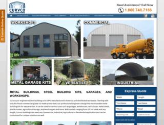 curvcosteelstructures.com screenshot