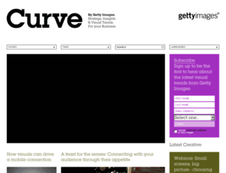 curve.gettyimages.com screenshot