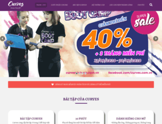 curves.com.vn screenshot