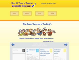 cushings-help.com screenshot