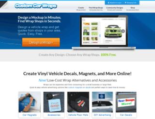 custom-car-wraps.com screenshot