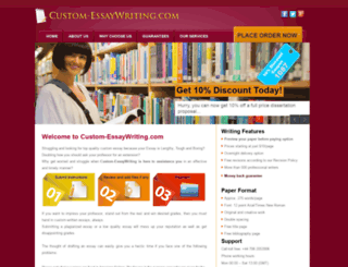 access custom essaywriting com custom essay writing service custom essaywriting com screenshot
