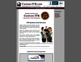 custom-ivr.com screenshot