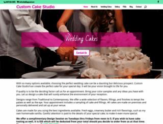 customcakestudio.com screenshot