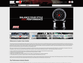 customcarscentral.com screenshot