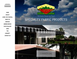 customcoversandcanvas.com screenshot