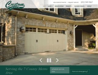 customdoorsales.com screenshot