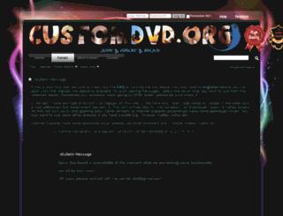 customdvd.org screenshot