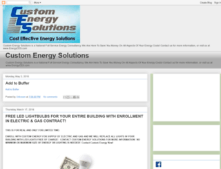 customenergysolution.blogspot.com screenshot