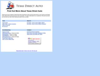 customer.texasdirectauto.com screenshot
