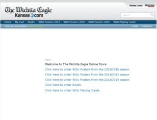 customercare.kansas.com screenshot