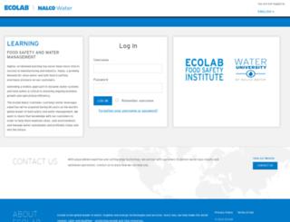 customerlearning.nalco.com screenshot