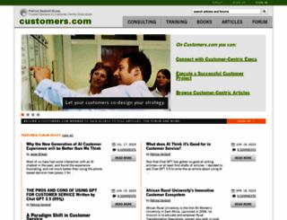 customers.com screenshot