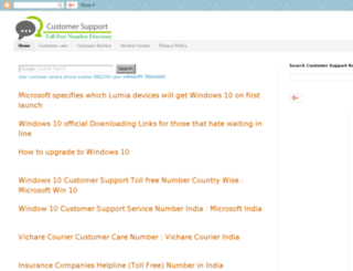 customersupportnumber.info screenshot