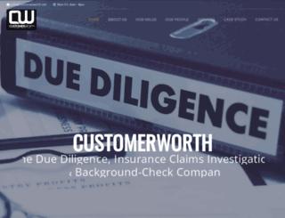 customerworth.net screenshot