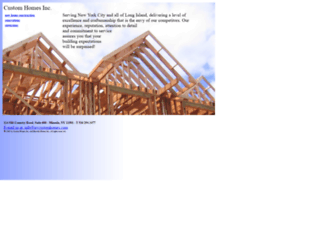customhomesny.com screenshot