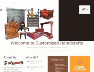 customizedhandicrafts.com screenshot