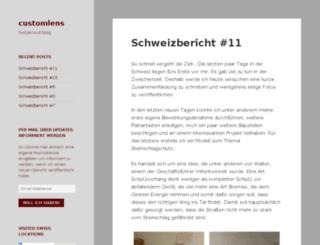 customlens.net screenshot