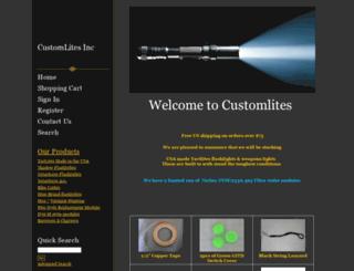 customlites.com screenshot