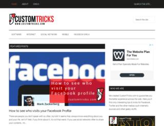 customtricks.com screenshot
