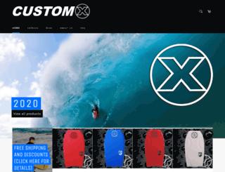 customxbodyboards.co screenshot