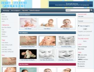 cutebabiespictures.com screenshot
