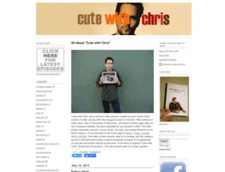 cutewithchris.com screenshot