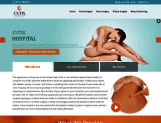 cutiscosmeticplasticsurgery.com screenshot