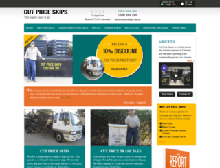 cutpricegroup.com.au screenshot