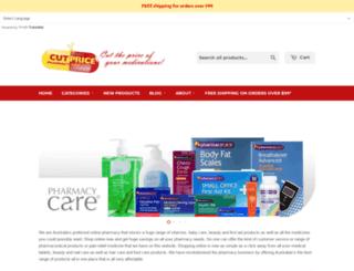 cutpricepharmacy.com.au screenshot